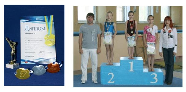 Акриловые награди, медали победителям из пластика