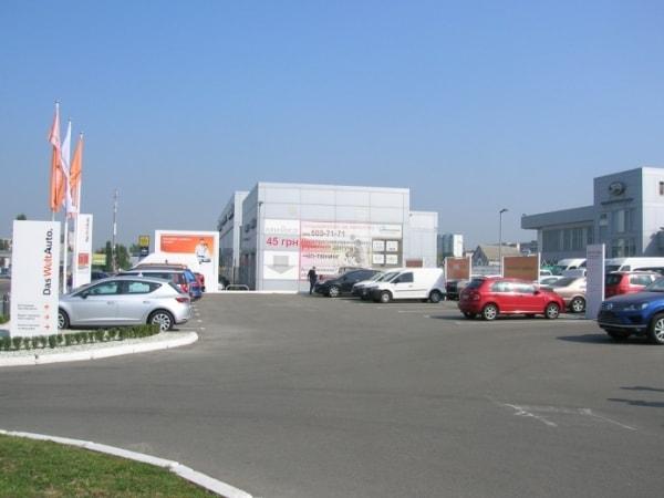 Система візуального орієнтування навігації автосалона