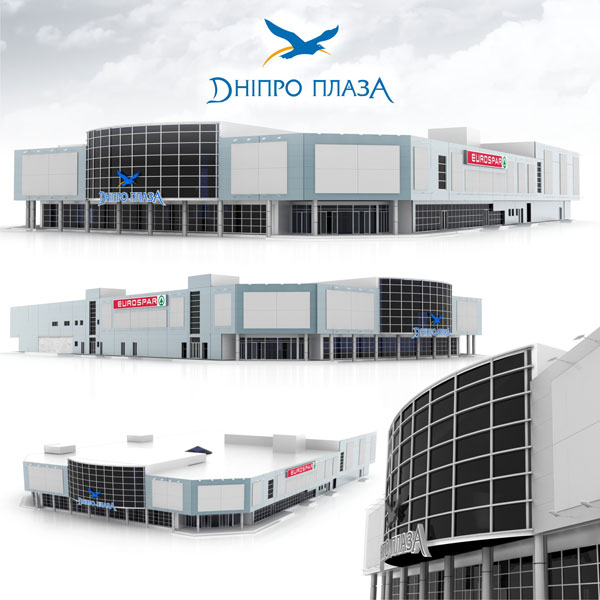 Разработка дизайна фасадов зданий