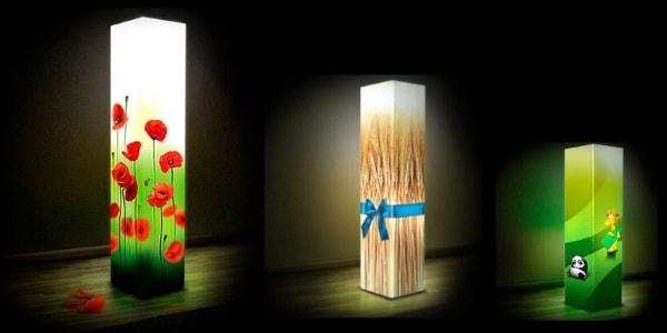 Дизайнерські світильники Soll із акрила, пластика