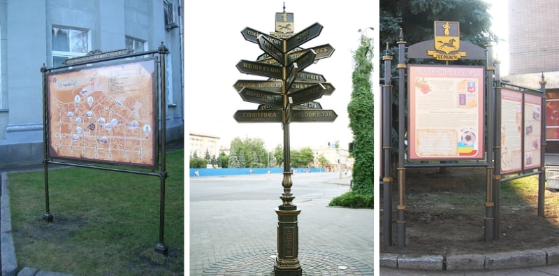 Городская, туристическая система навигации