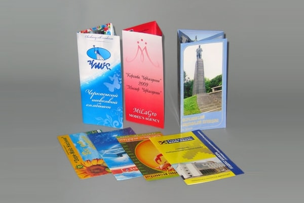 Изготовление, печать рекламных буклетов