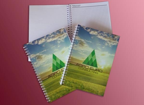 Корпоративные блокноты с логотипом - печать на блокнотах