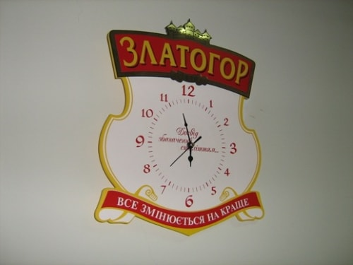 Корпоративные часы с логотипом