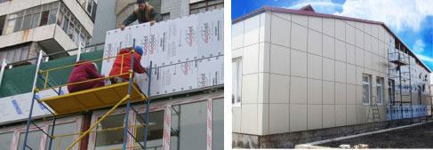 Облицювання фасадів будівель алюмінієвими композитними панелями