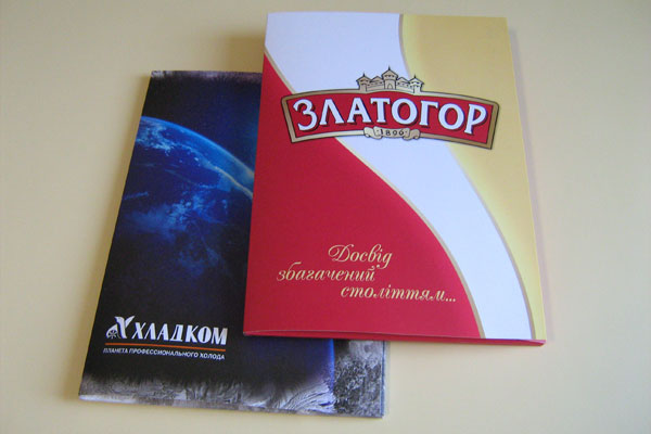 Печать, изготовление корпоративных папок