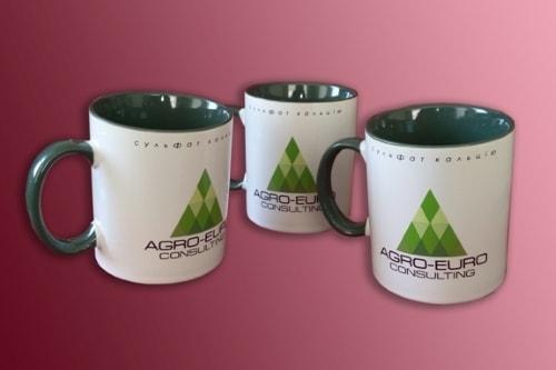 Печать на керамических чашках