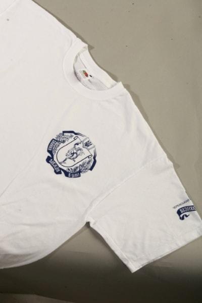 Печать на футболках, корпоративная футболка с логотипом