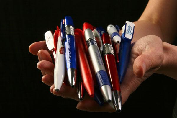 Ручки з логотипом - друк на ручках