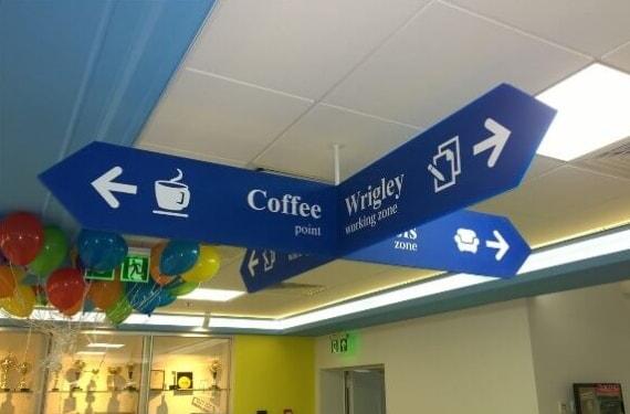 Система навигации в магазине, офисе