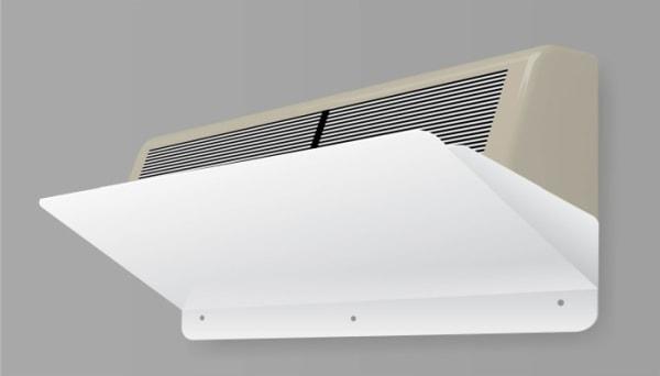 Захисний екран відбивач, дефлектор для кондиціонера Z-2