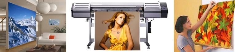 Изготовление, печать фотообоев