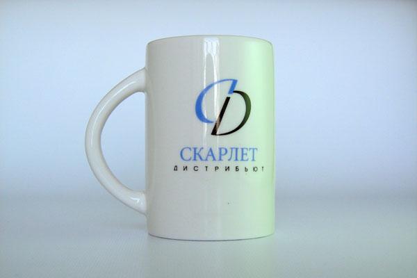 Чашка с логотипом компании