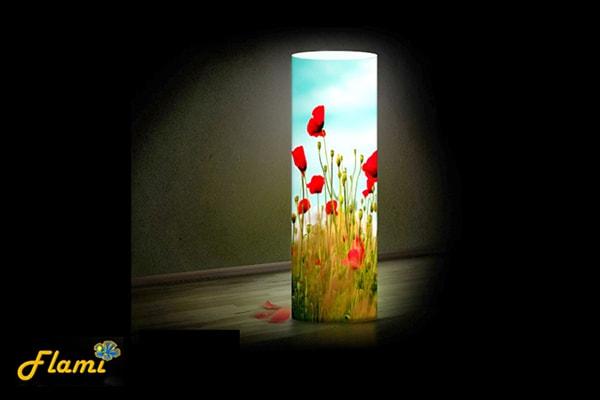 Дизайнерский светильник Flami - Маки