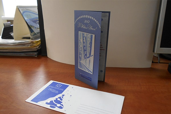 (Русский) Изготовление, печать дизайнерских открыток