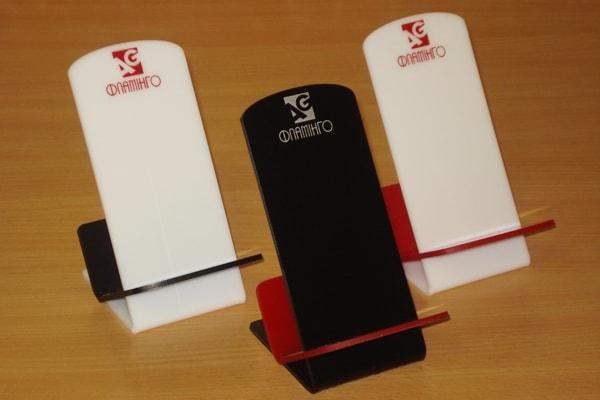 Корпоративные подставки под мобильные телефоны с логотипом