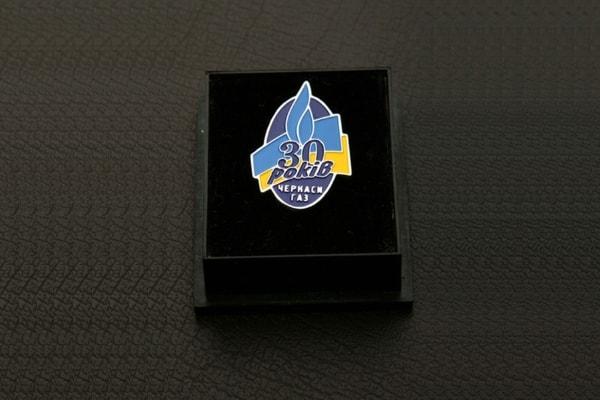 Корпоративний значок з логотипом