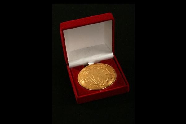 Нагородна медаль - гравірування по металу