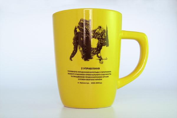 Нанесение изображения на чашки