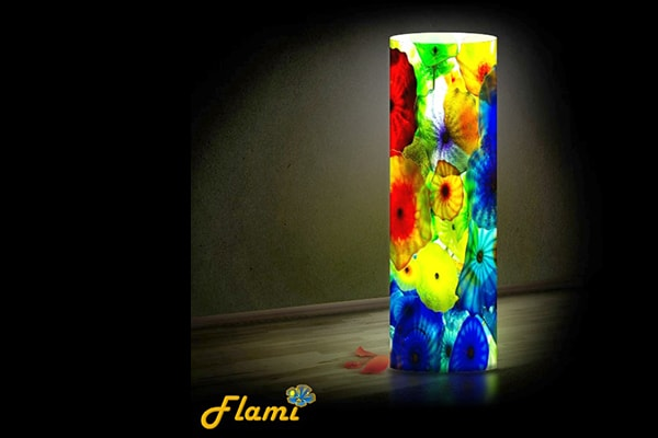 Настільний світильник Flami - Кольори моря
