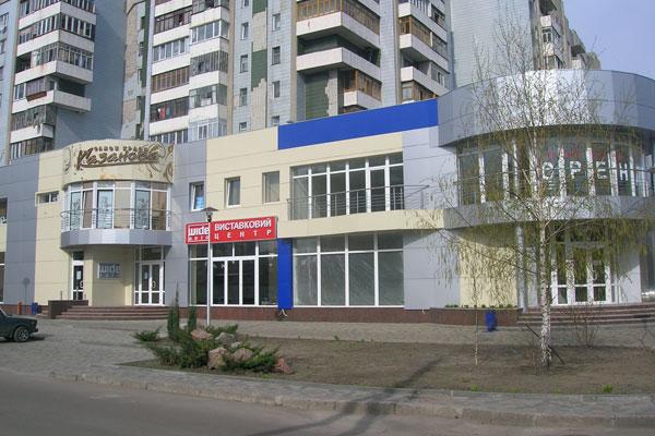 Облицовка фасадов магазинов алюминиевыми композитными панелями