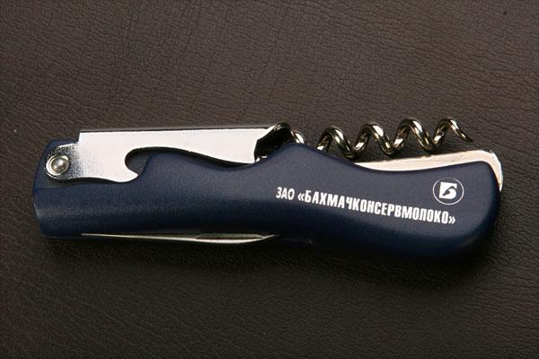 Друк логотипа на ножі