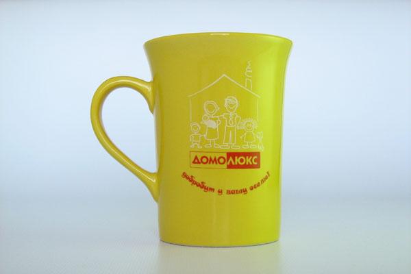 Печать на керамической чашке