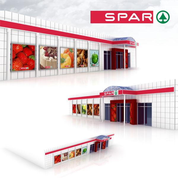 Разработка дизайн проекта супермаркета