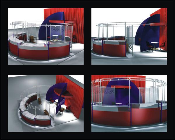 Разработка дизайн проекта торговой точки ювелирного магазина