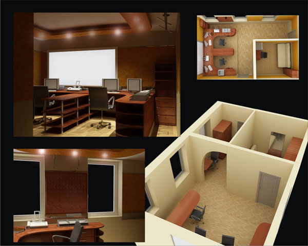 Разработка дизайна офиса