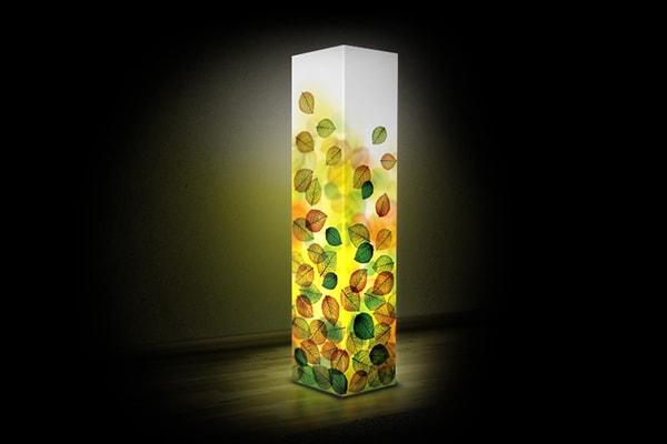 Світильник із пластика Soll - Листва