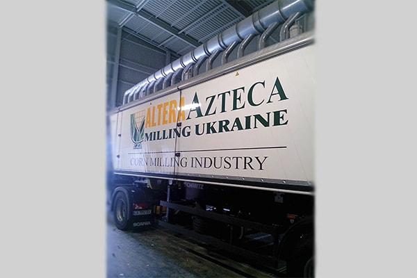 Брендирование корпоративного грузового автомобиля