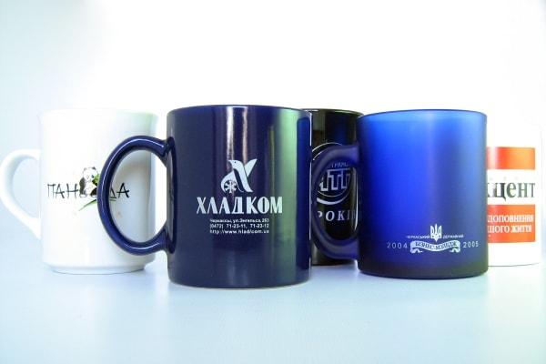 Брендирование на керамических чашках