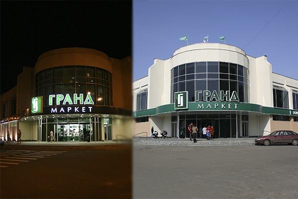 Світлова дахова установка торгового центру