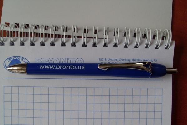 Печать изображения на шариковой ручке