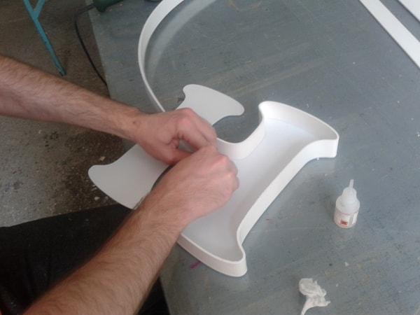 Пластиковые объемные буквы своими руками