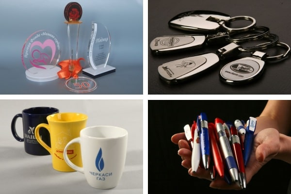 Бизнес сувениры, корпоративные подарки сотрудникам, партнерам на Новый год 2019