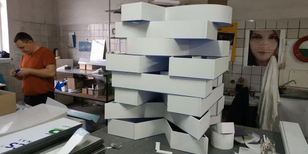 Изготовление объемных букв для птицефабрики