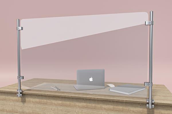 Защитная перегородка, экран для рабочего стола ZB 009 1200*700мм