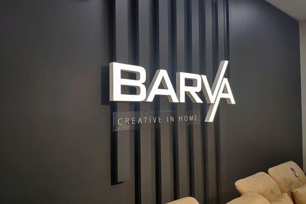 Об'ємні світлові літери - виготовлення логотипа для меблевого магазина