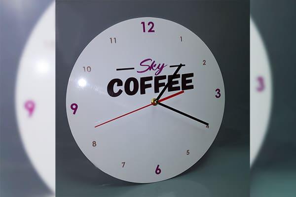 Виготовлення настінних годинників з логотипом, символікою компанії