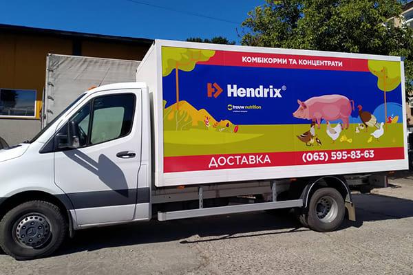 Реклама на корпоративному транспорті - друк і монтаж